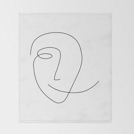 Different Smile Throw Blanket