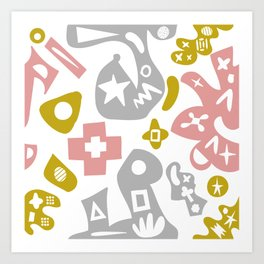 Abstract Pattern 15 Art Print
