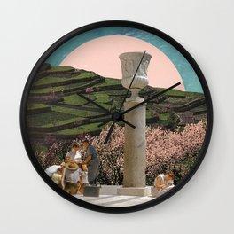 Dream Vacation Spot Wall Clock