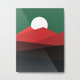 Abstract and geometric landscape 11 Metal Print