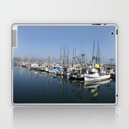 Harbor At Half Moon Bay Laptop & iPad Skin