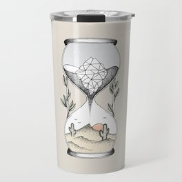 Time Is Running Out Travel Mug