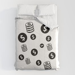 Put a $100 On It And Thank Me Later | Money Signs| HODL Collection 2020 Comforters