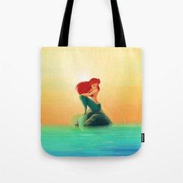 Beauty Mermaid Tote Bag