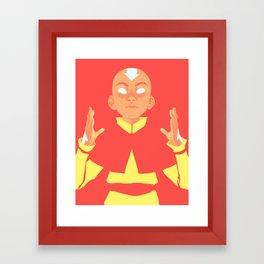 Avatar Aang Framed Art Print