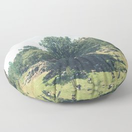 Landscape in Portugal Floor Pillow