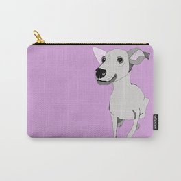 Whippet smile Carry-All Pouch
