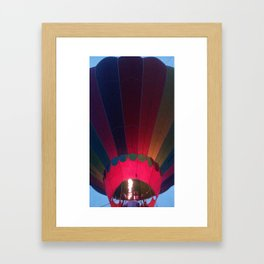 Glow for a Ride! Framed Art Print