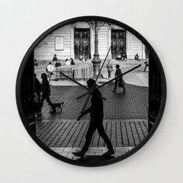 Lille street Wall Clock