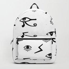 Third Eye Seamless pattern Backpack
