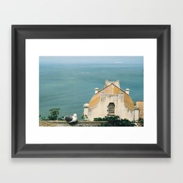 View from Alcatraz Framed Art Print