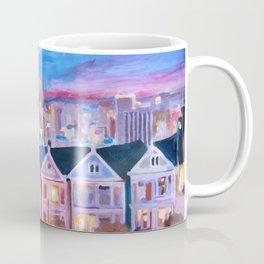 San Francisco - Painted Ladies - Alamo Sq Coffee Mug