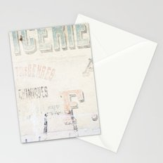 the writing on the wall ...  Stationery Cards