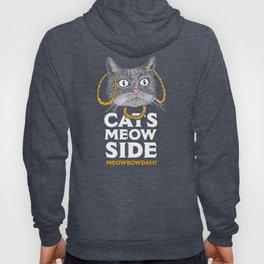 Cats Meow Side Meowbowdah Hoody
