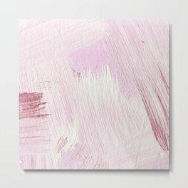 Blush Pink Metal Print