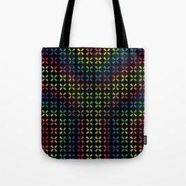 Blurred Rainbow XY Tote Bag
