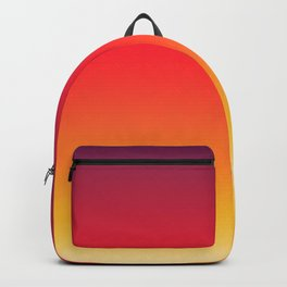 Antina - Classic Warm Summer Color Gradient Backpack