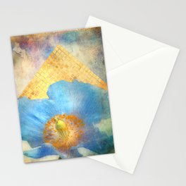 Sky Poppy Stationery Cards