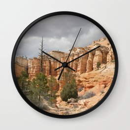 Bryce Canyon ~ Mossy Cave trail Wall Clock