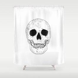 Super Skull Shower Curtain