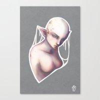 elf Canvas Prints featuring Elf by Myriam Barret