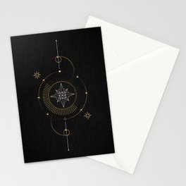 Tarot geometric #3: North star Stationery Cards