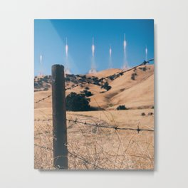 Kim Jong-un Will Say It's #Photoshop Metal Print