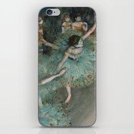 Swaying Dancer - Edgar Degas iPhone Skin