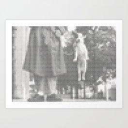 Pixel Elliott Erwitt Art Print