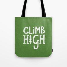 CLIMB HIGH Tote Bag
