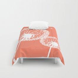 Dandelions in Coral Comforters