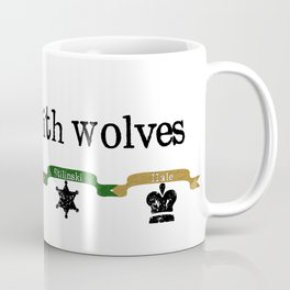 Running With Wolves v2 Coffee Mug