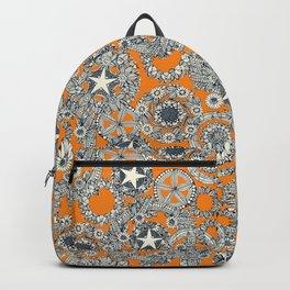 cirque fleur papaya Backpack