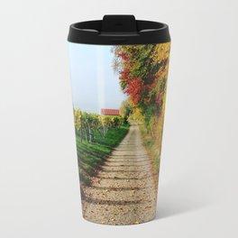 Autumn Chemin Nature Travel Mug