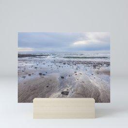 A Footprint of the Sea Mini Art Print