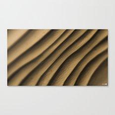 Clay Waves Canvas Print