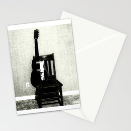 This Chair and Guitar Weren't Always So Lonely Stationery Cards