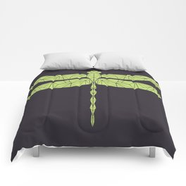 The dragonfly is not envoius Comforters