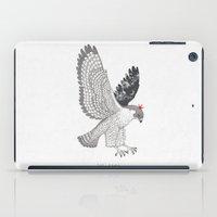 hawk iPad Cases featuring hawk by talltree