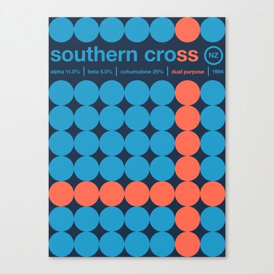 southern cross single hop Canvas Print