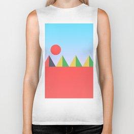 Pyramids in the Sun Biker Tank