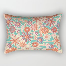 Motivo floral 2 Rectangular Pillow