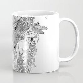 Floral Dino Coffee Mug