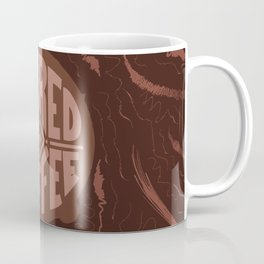 powered by coffee and swirls Coffee Mug