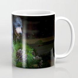 Napping bear Coffee Mug