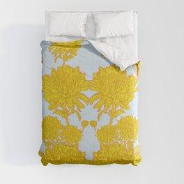 Chysanthemum in Saffron Comforters