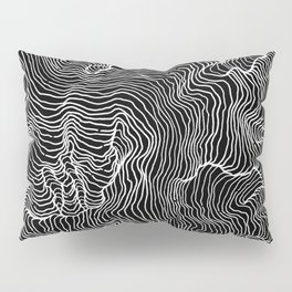 Black Riptide Pillow Sham