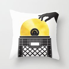 Gold Digger Throw Pillow