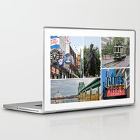 memphis Laptop & iPad Skins featuring Memphis Memories by Harlan Stillions