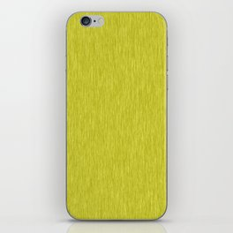 Yellow Fibre iPhone Skin